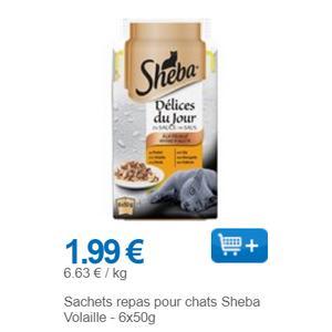 Bon Plan Délices du Jour à la Volaille Sheba Partout - anti-crise.fr