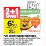 Bon Plan Plat Cuisiné Weight Watchers chez Carrefour Market - anti-crise.fr