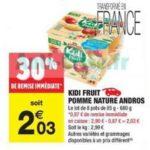 Bon Plan Kidi Fruit Andros chez Carrefour Market - anti-crise.fr