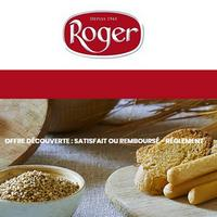 Offre de Remboursement Roger : Votre Produit Satisfait ou 100% Remboursé en Bon