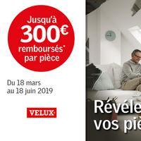 Offre de Remboursement Velux : Jusqu'à 300€ Remboursés par Pièce sur Fenêtre de Toit