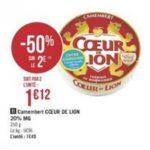 Bon Plan Camembert Coeur de Lion chez Géant Casino - anti-crise.fr