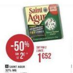 Bon Plan Fromage Saint Agur chez Géant Casino - anti-crise.fr