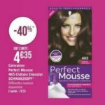Bon Plan Coloration Perfect Mousse de Schwarzkopf chez Géant Casino - anti-crise.fr