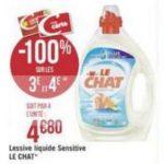 Bon Plan Lessive Liquide Le Chat chez Géant Casino - anti-crise.fr