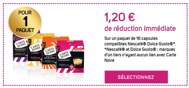 Carte Noire 1 2 De Réduction Jusqu Au 30 09 2019 Bon De