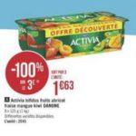 Bon Plan Yaourts Activia Fruits Danone chez Géant Casino - anti-crise.fr