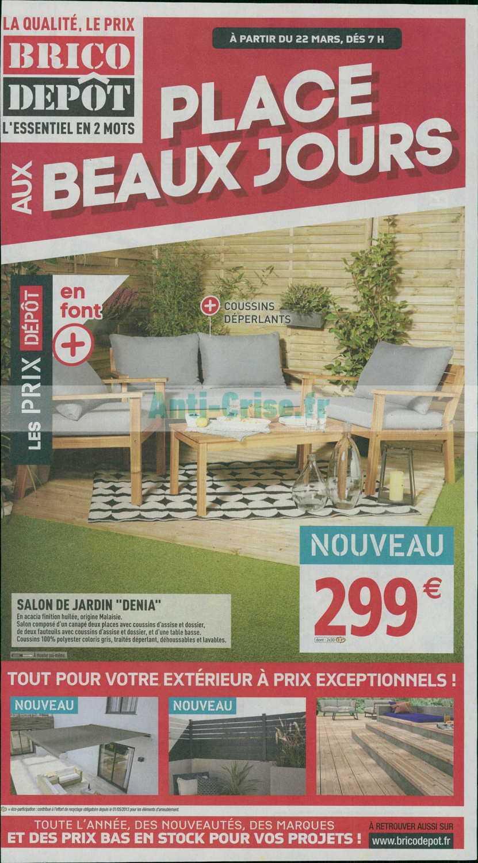 Catalogue Brico Dépôt Du 22 Mars Au 04 Avril 2019
