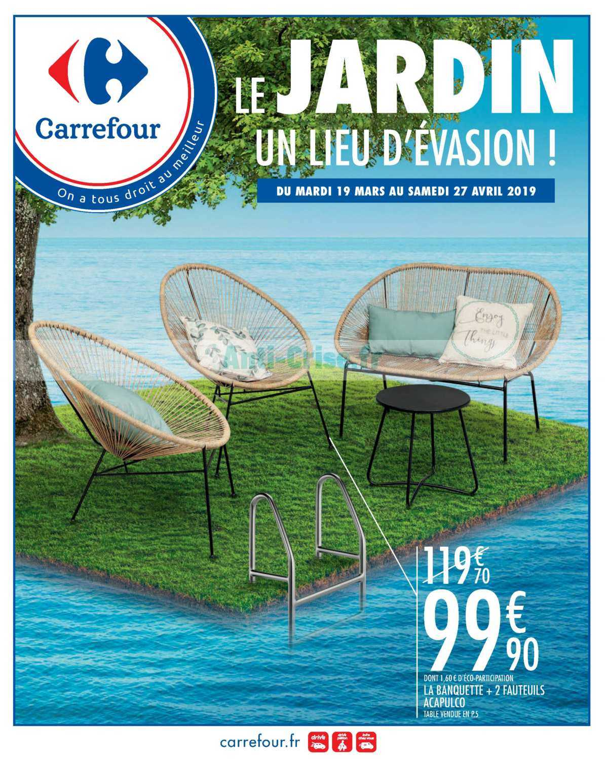 Catalogue Carrefour du 19 mars au 27 avril 2019 (Jardin ...
