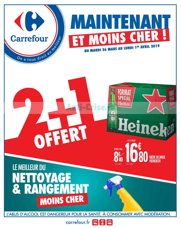 Catalogue Carrefour Du 26 Mars Au 01 Avril 2019 Catalogues