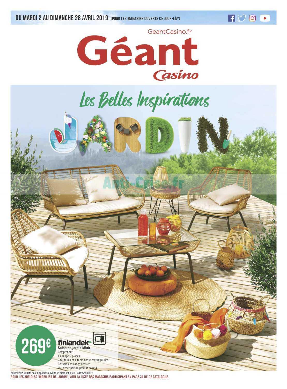 Catalogue Géant Casino du 02 au 28 avril 2019 (Jardin ...