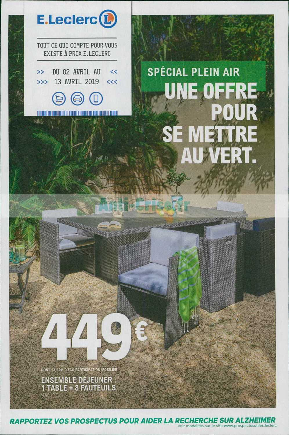 Catalogue Leclerc du 02 au 13 avril 2019 (Jardin ...