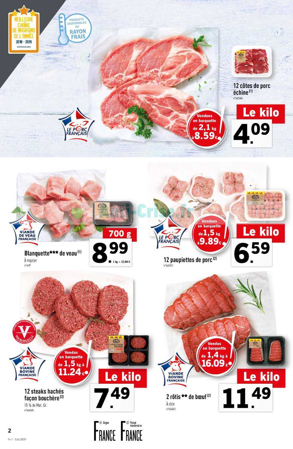 Catalogue Lidl Du 03 Au 09 Avril 2019 Catalogues Promos