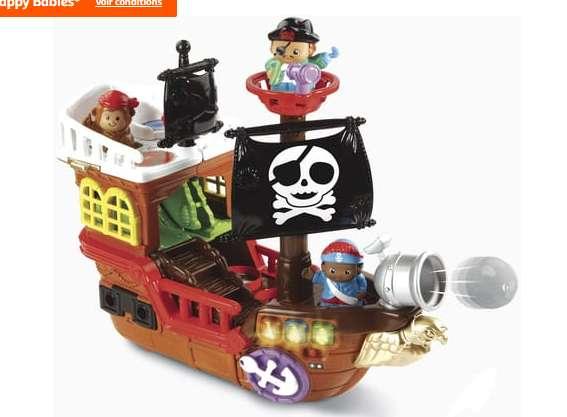 Super bateau pirate Vtech qui revient à 16€