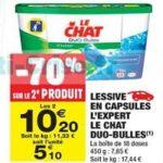 Bon Plan Lessive Le Chat Capsules chez Carrefour Market (05/03 - 17/03) - anti-crise.fr