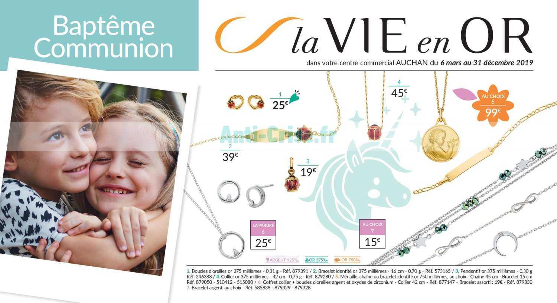 plus bas rabais mode grand choix de 2019 Catalogue Auchan du 06 mars au 31 décembre 2019 (Bijoux ...