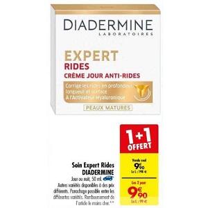 Bon Plan Crème Diadermine Expert chez Carrefour (19/03 - 01/04) - anti-crise.fr