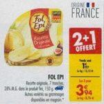 Bon Plan Fromage en Tranches Fol Epi chez Carrefour (05/03 - 11/03) - anti-crise.Fr