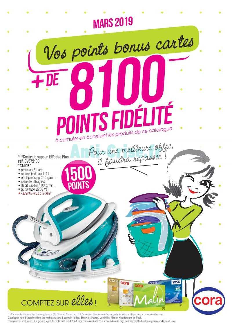Carte Cora Et Points Fidelite.Catalogue Cora Du 01 Au 31 Mars 2019 Points Fidelite