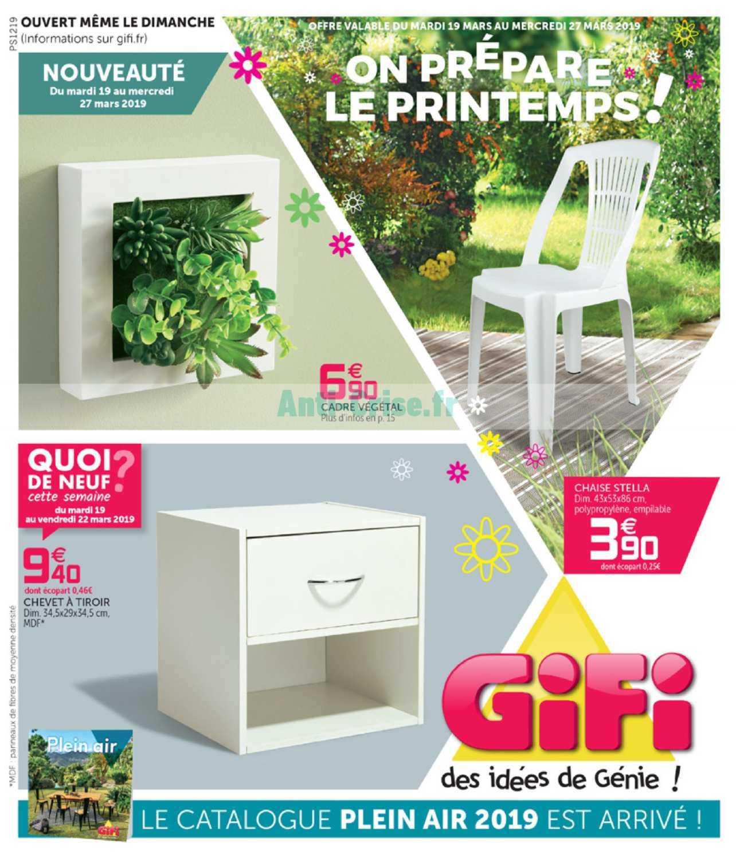 Catalogue Gifi Du 19 Au 27 Mars 2019 Catalogues Promos