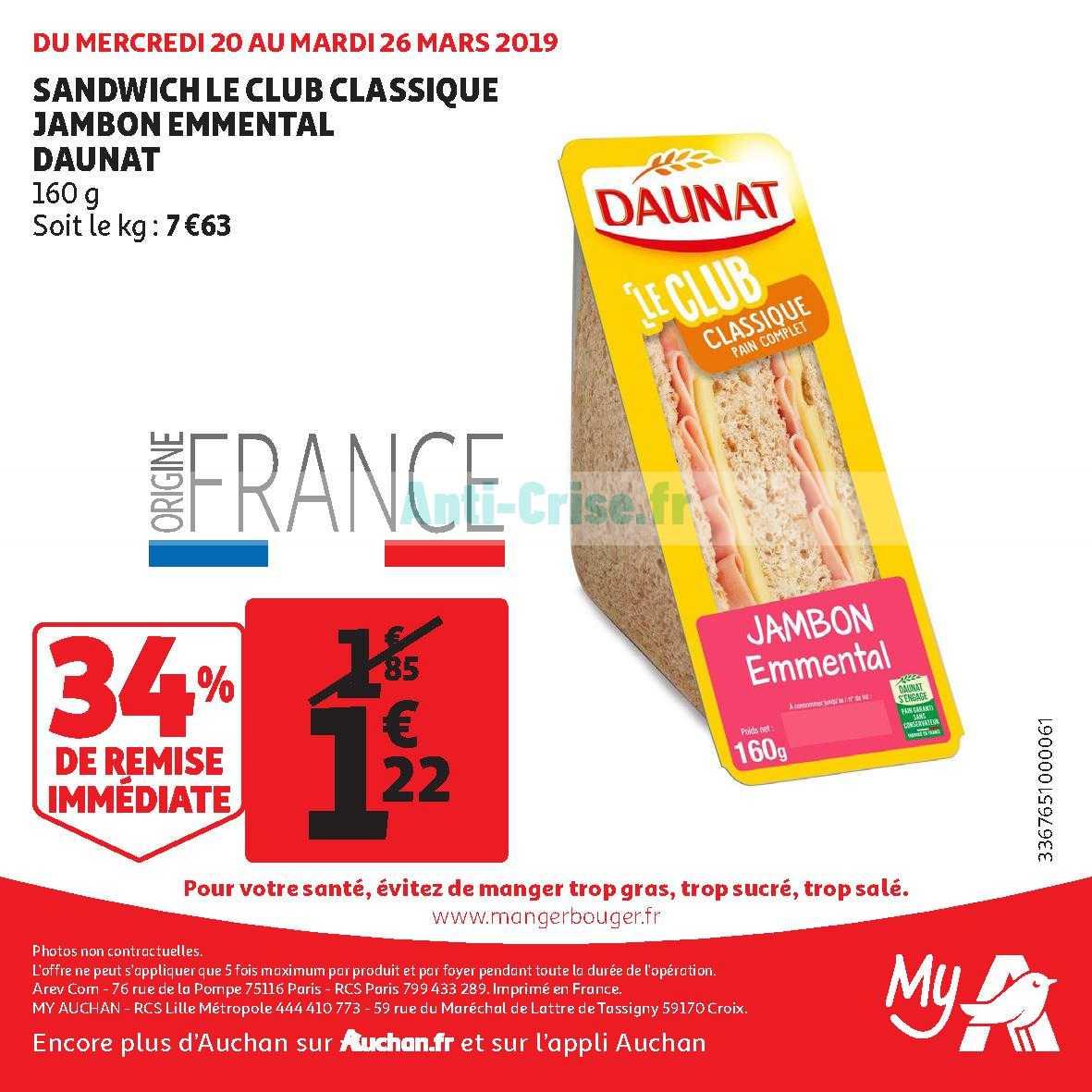 Catalogue My Auchan Du 20 Au 26 Mars 2019 Catalogues
