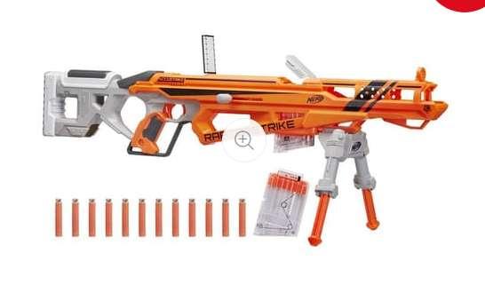 Jouet Nerf Fusil RaptorStrike à 29.99€ ( moitié prix)