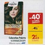 Bon Plan Coloration Palette Schwarzkopf chez Carrefour (05/03 - 11/03) - anti-crise.fr
