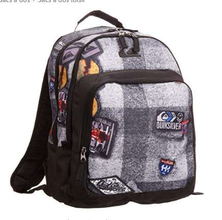 12,89€ le sac à dos Quiksilver Primary Patch