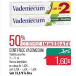 Bon Plan Dentifrice Vademecum chez Match (05/03 - 10/03) - anti-crise.fr