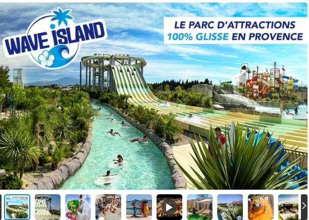 Entrées à prix réduits à Wave Island ( 20.5€)