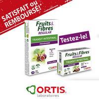 Offre de Remboursement Ortis : Fruits & Fibres Satisfait ou 100% Remboursé