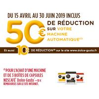 Offre de Remboursement Krups : 50€ Remboursés sur Machine Dolce Gusto Automatique