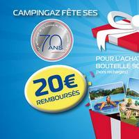Offre de Remboursement Campingaz : 20€ Remboursés sur Bouteille 904 ou 907