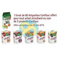 Bon Plan Saint Louis : 80 Etiquettes Confisuc Offertes