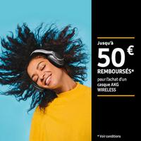Offre de Remboursement Samsung : Jusqu'à 50€ Remboursés sur Casque AKG Wireless