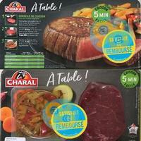 Offre de Remboursement Charal : A Table ! Satisfait ou 100% Remboursé en Bon d'Achat