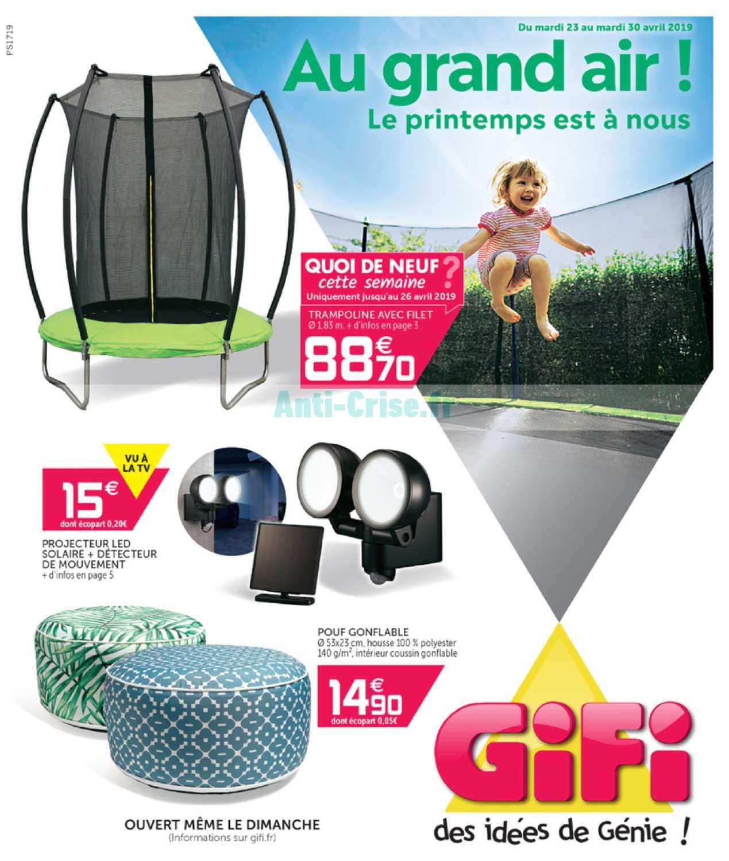 Catalogue Gifi Du 23 Au 30 Avril 2019 Catalogues Promos