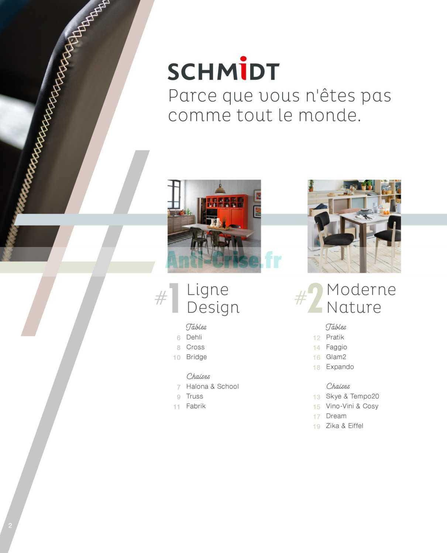 Catalogue Cuisines Schmidt Du 15 Avril Au 31 Decembre 2019