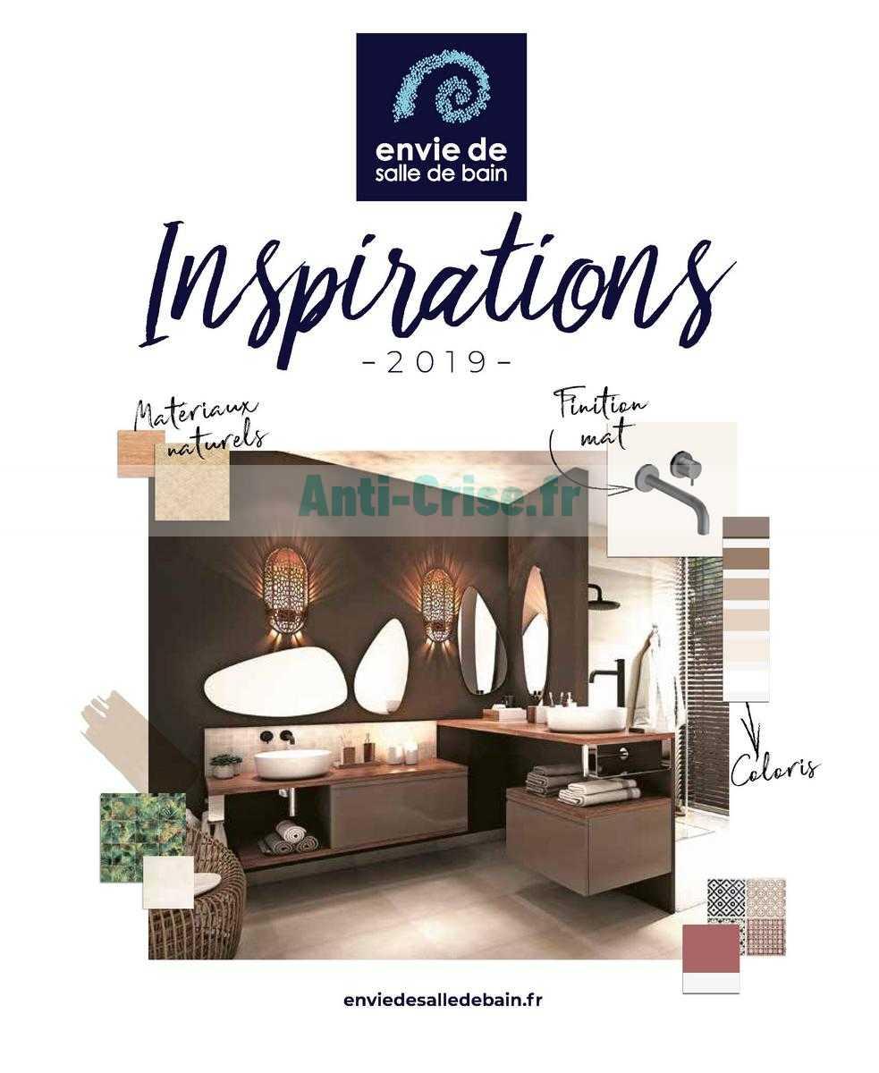 Catalogue Envie De Salle De Bain Du 01 Janvier Au 31