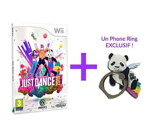 24,99€ le jeu Just Dance 2019 + porte clé pour WII