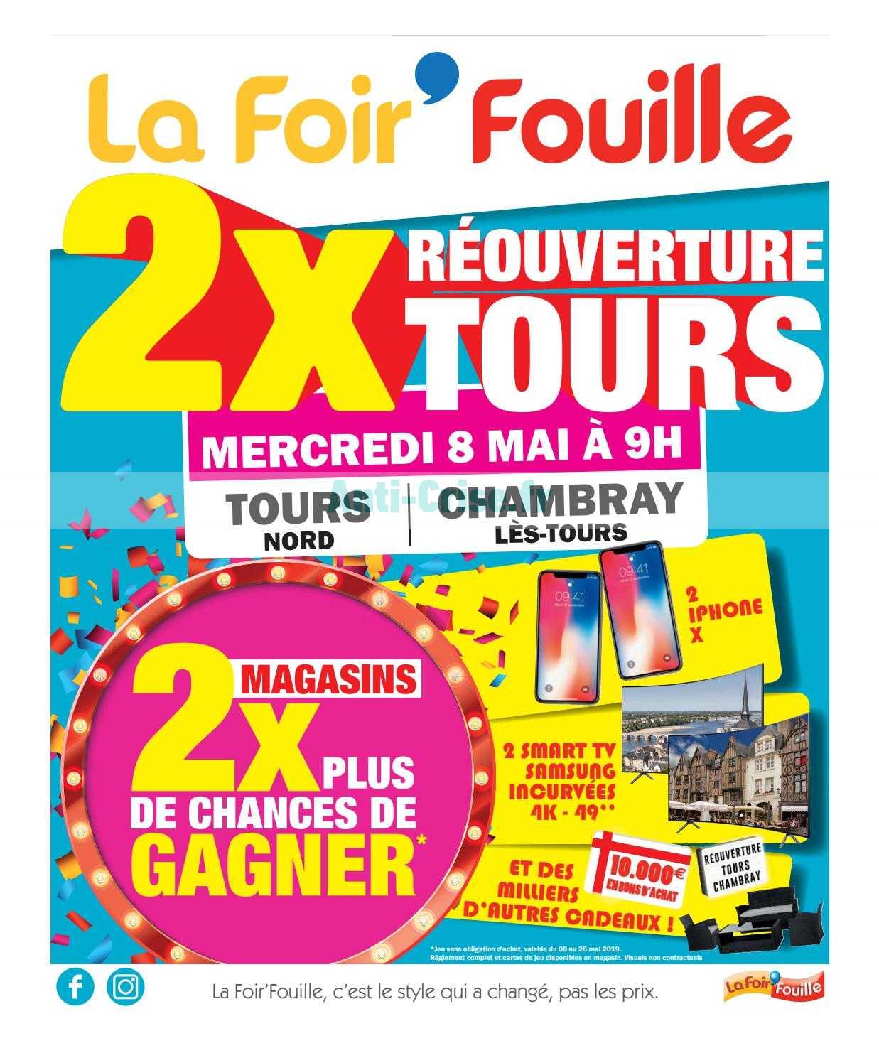 Catalogue La Foir Fouille Du 08 Au 19 Mai 2019 Catalogues