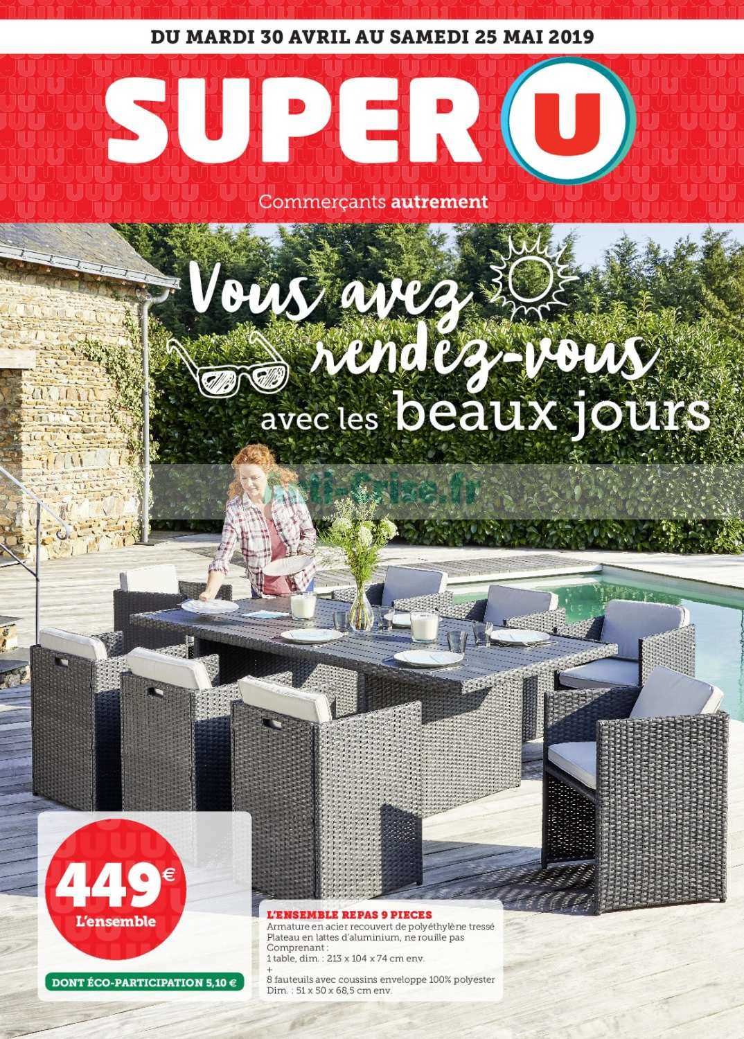 Catalogue Super U Du 30 Avril Au 25 Mai 2019 Beaux Jours