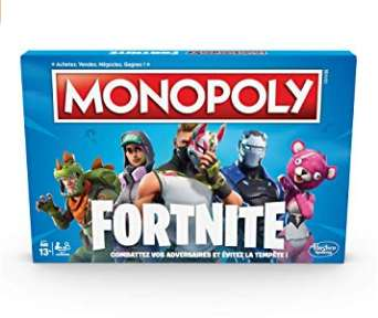 16€ le Monopoly Fortnite