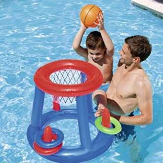 0,23€ le panier de basket pour piscine Bestway