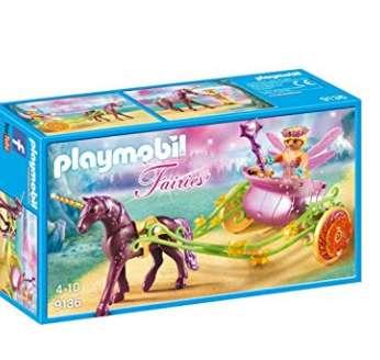 8€ la boite Playmobil 9136 ( Fée avec carrosse et Licorne )
