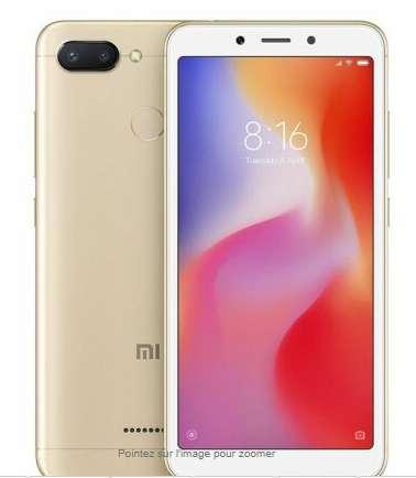 Smartphone Xiaomi Redmi 6 3 – 32go à 105.99€