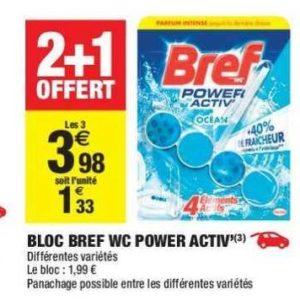 Bloc WC Bref chez Carrefour Market (04/06 – 16/06)