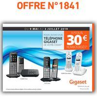 Offre de Remboursement Gigaset : Jusqu'à 30€ Remboursés sur Téléphone chez Orange