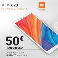 Offre de Remboursement Xiaomi : 50€ Remboursés sur Smartphone Mi Mix 2S