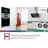 Offre de Remboursement Bosch : Jusqu'à 100% Remboursé sur une Sélection de Produits chez Darty